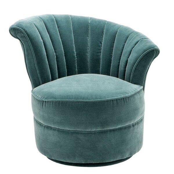 Aero Swivel Barrel Chair by Eichholtz