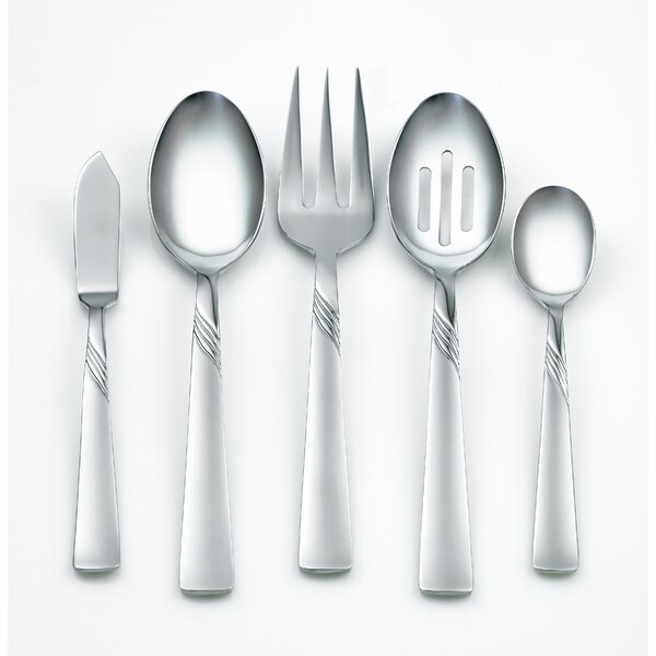 Kit Frost 45-Piece Flatware Set by Corelle