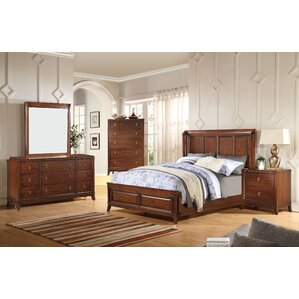 Timberlane Wingback Panel Configurable Bedroom Set by Darby Home Co