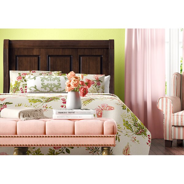 Erving Sleigh Bed by Darby Home Co