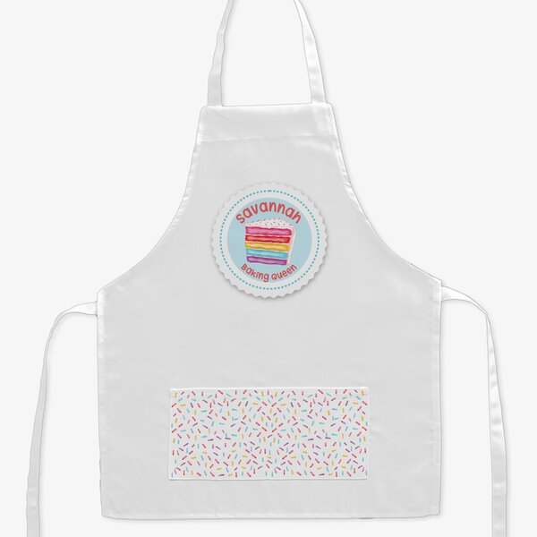 Baking Queen Personalized Kid Apron by Monogramonline Inc.