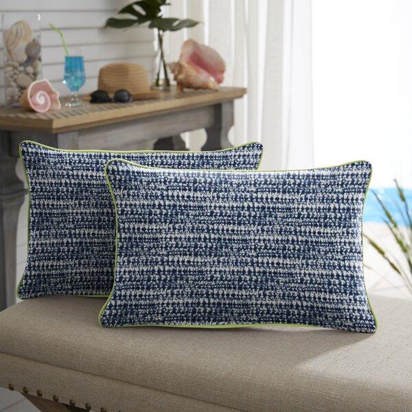 Berthier Outdoor Rectangular Pillow Cover & Insert (Set of 2)