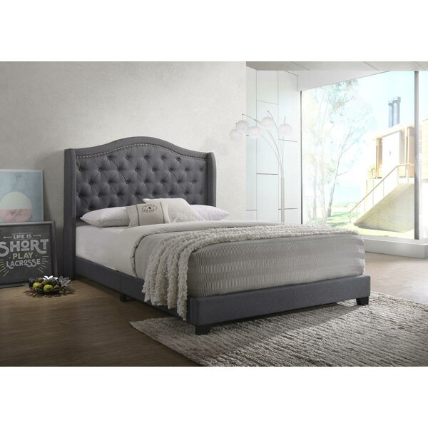 Amara Upholstered Standard Bed by Grovelane Teen