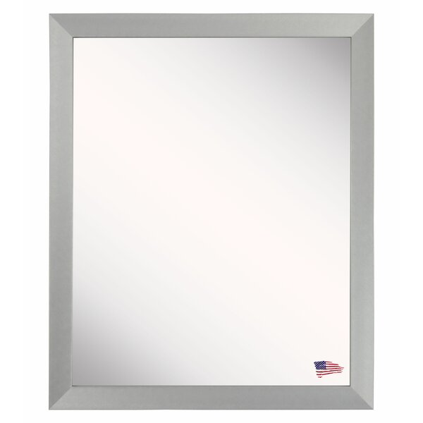 Silver Aluminum Wall Mirror by Latitude Run