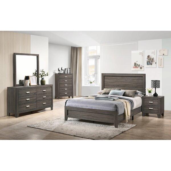 Fern Rock Platform 5 Piece Bedroom Set by Union Rustic
