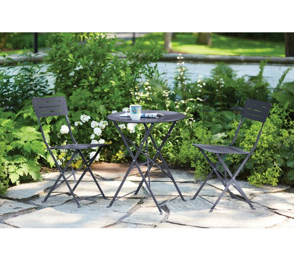 Sosebee 3 Pieces Bistro Set by Ebern Designs