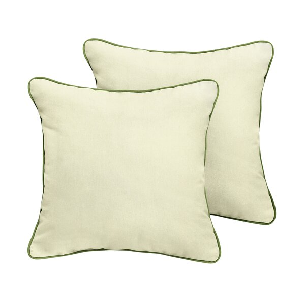 Frasier Sunbrella Outdoor Throw Pillow (Set of 2) by Rosecliff Heights