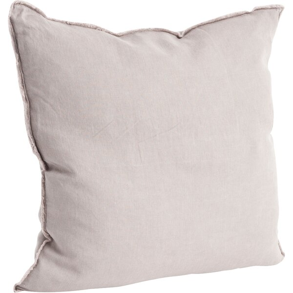Roslyn Linen Throw Pillow by Greyleigh