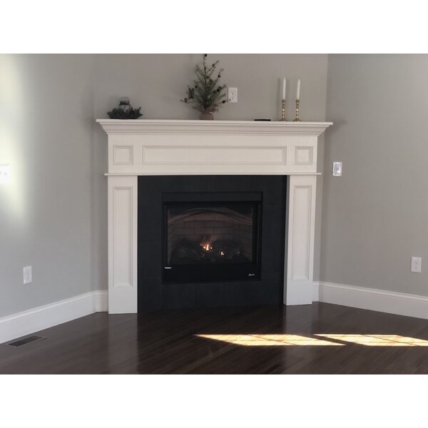 Decorative Mantel Fireplace Surround By Crafted Cabintery