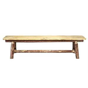 Tustin Plank Style 6 Foot Bench by Loon Peak