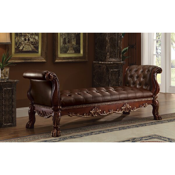 Welliver Upholstered Bench by Astoria Grand