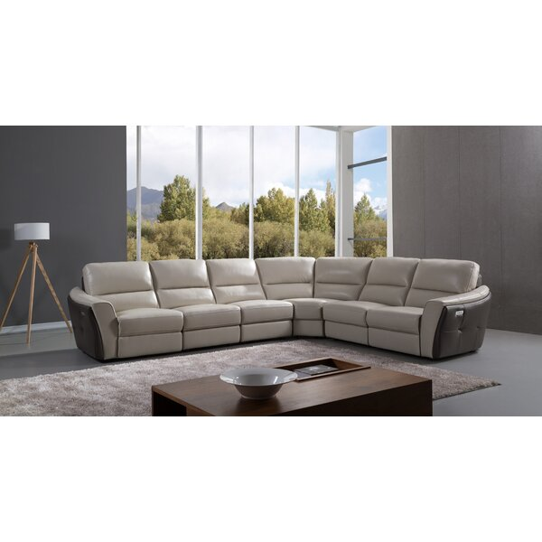 Minnick Reclining Sectional By Latitude Run 2019 Online