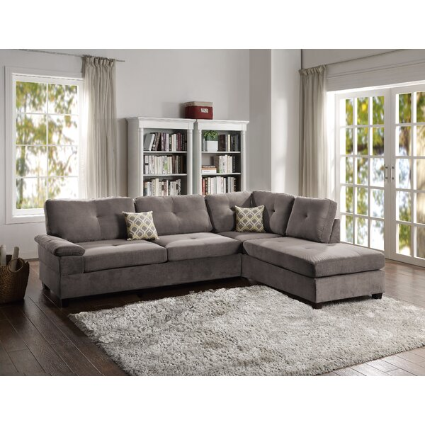 Sandbach Reversible Sectional By Red Barrel Studio