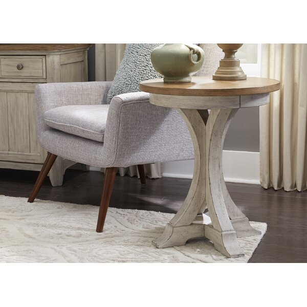 Kreutzer Round End Table by One Allium Way