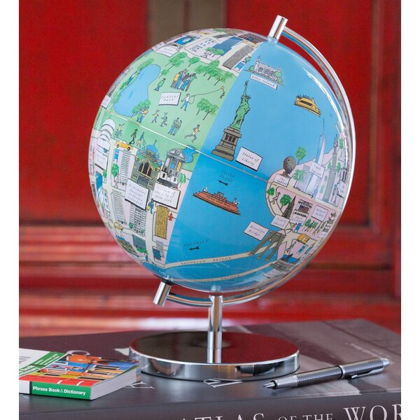 New York Night Lights Globe by Waypoint Geographic