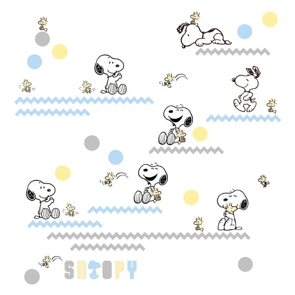 Salma My Little Snoopy Wall Decal by Zoomie Kids