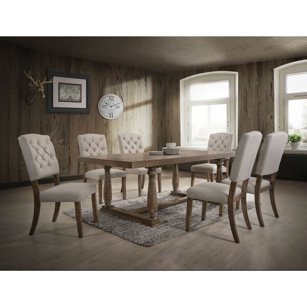 Denita 7 Pieces Dining Set by Gracie Oaks