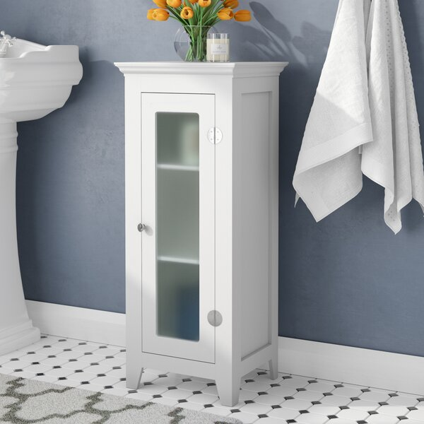 Sylvan 13.75 W x 33 H Cabinet by Three Posts