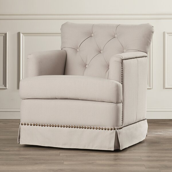 DeKalb Swivel Armchair by Darby Home Co