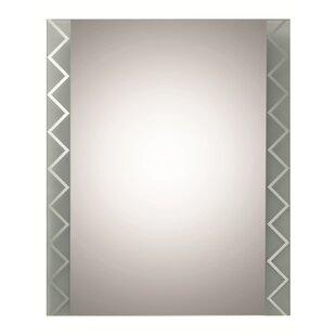 Decor Wonderland Frameless Butterfly Wall Mirror