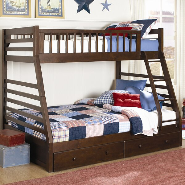 Asine Bunk Bed With Drawers By Orren Ellis 2019 Coupon