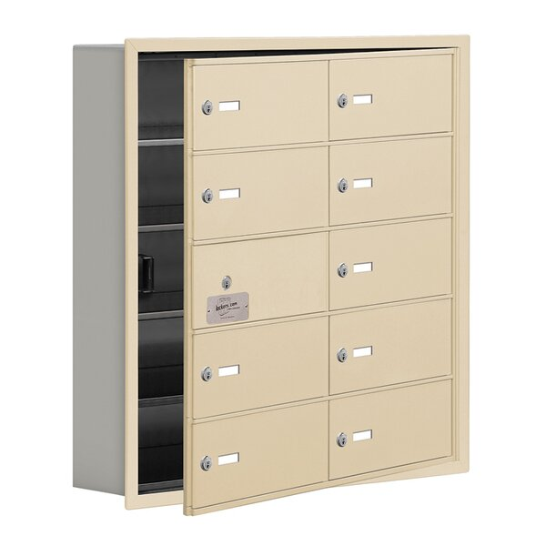 5 Tier 2 Wide EmpLoyee Locker by Salsbury Industries