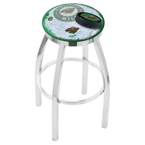 NHL Swivel Bar Stool by Holland Bar Stool