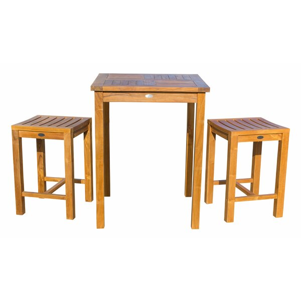 3 Piece Teak Bistro Set by Chic Teak