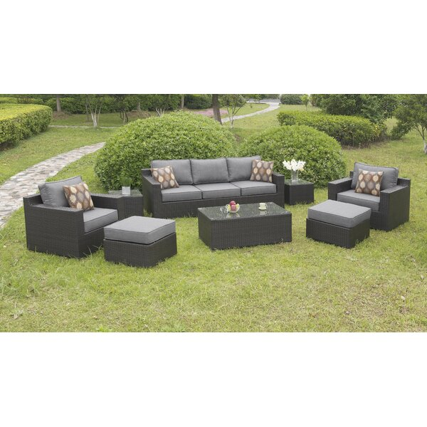 Colwell 8 Piece Deep Seating Group with Cushions by Darby Home Co