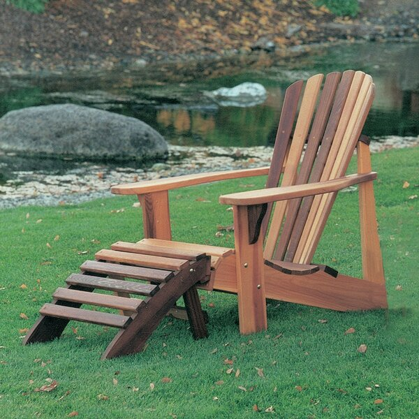 Cargo Solid Wood Adirondack Chair by Highland Dunes Highland Dunes