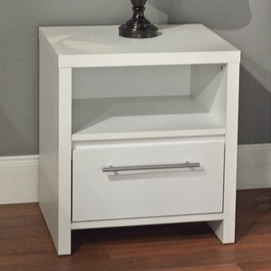 Marylou 1 Drawer Nightstand by Zipcode Design