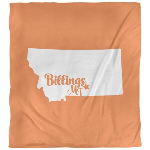 Billings Montana Duvet Cover