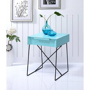 Glidewell Retro Styled End Table