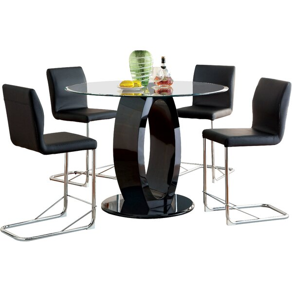 Berwick 5 Piece Dining Set by Orren Ellis