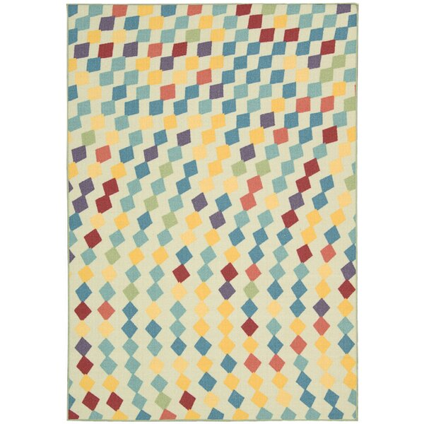 Erica Ivory Area Rug by Latitude Run