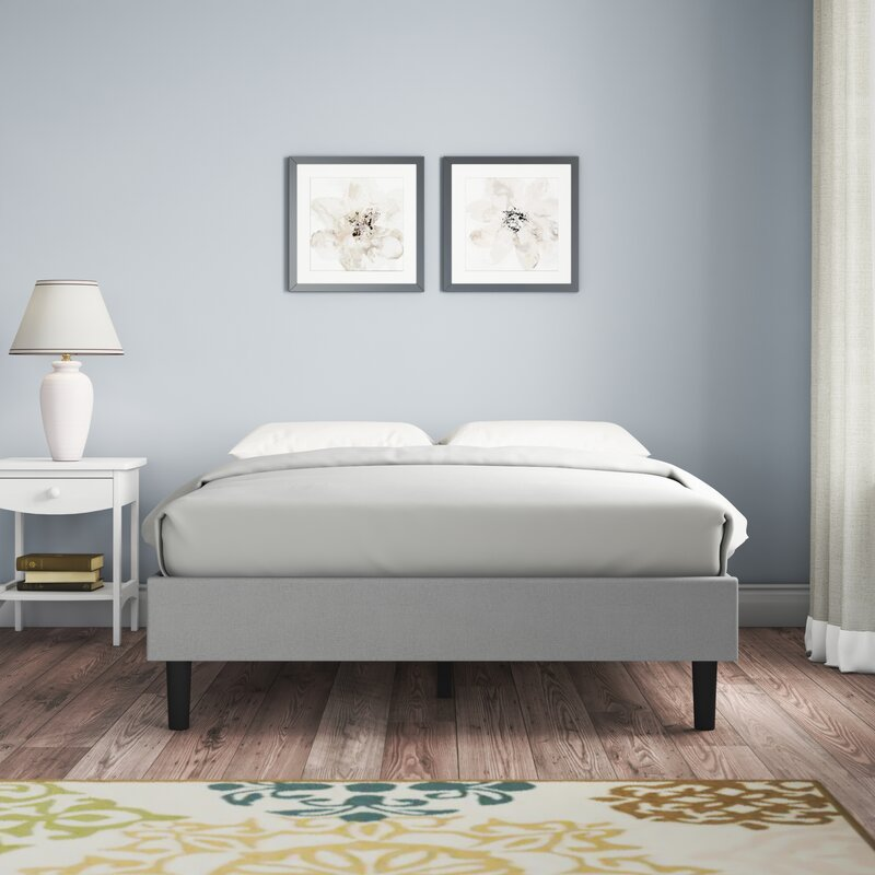 Red Barrel Studio Locust Grove Upholstered Platform Bed Reviews Wayfair