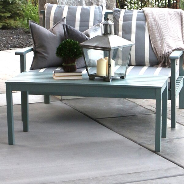 Acacia Wood Patio Loveseat by angelo:HOME