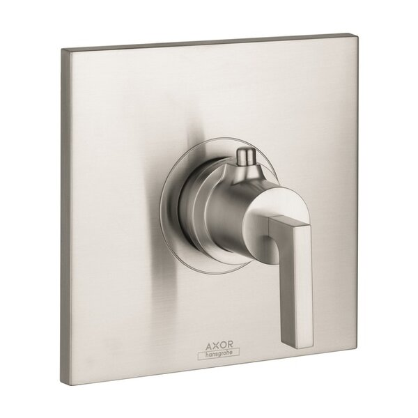Axor Citterio Thermostatic Faucet Trim with Lever Handle by Axor