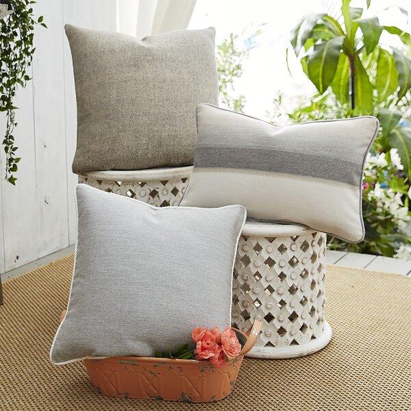 Ombre Affair 3 Piece Sunbrella Pillow Set by Patina Vie