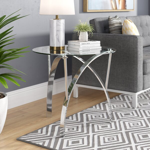 Quandro End Table (Set Of 2) By Wade Logan