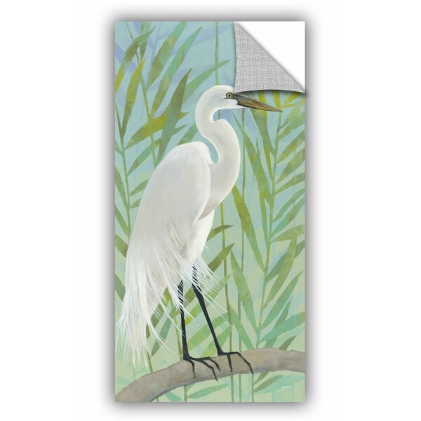 Stoker Egret by the Shore I Wall Decal by Bay Isle Home