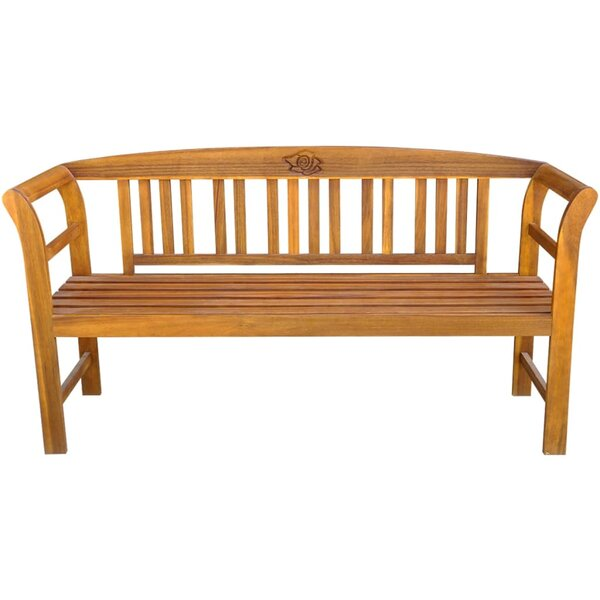 Jenkin Wooden Garden Bench by Highland Dunes