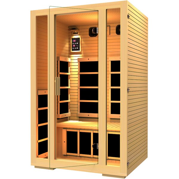 Joyous 2 Person FAR Infrared Sauna by JNH Lifestyles