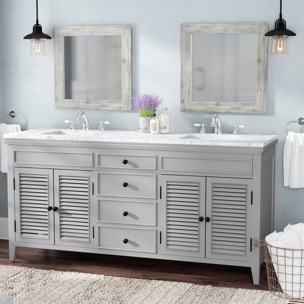 Grovetown 72 Double Bathroom Vanity Set by Laurel Foundry Modern Farmhouse