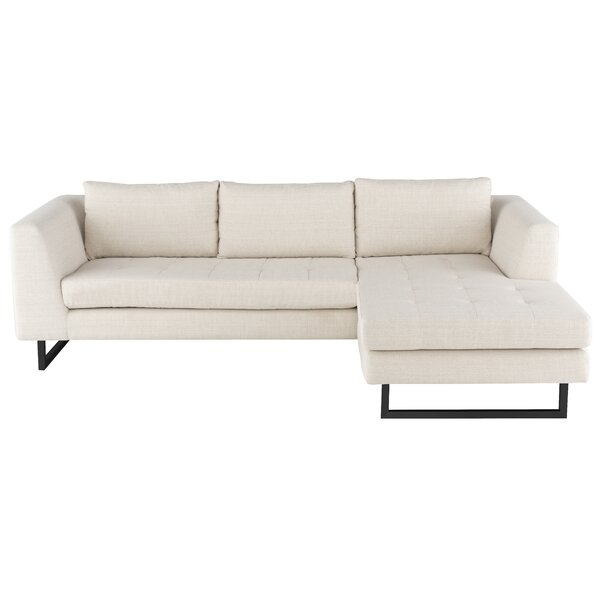 Matthew Right Hand Facing Sectional by Nuevo