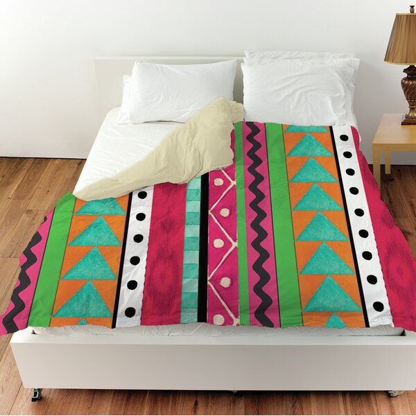Boho Medallion Square Duvet Cover by Manual Woodworkers & Weavers