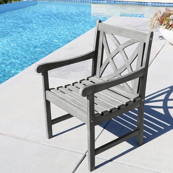 Densmore Patio Dining Chair by Darby Home Co