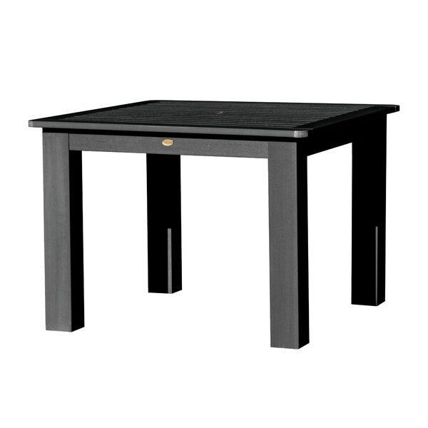 Theobald Plastic Dining Table by Darby Home Co