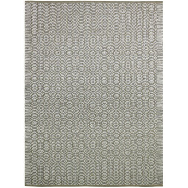 Bertrand Hand-Woven Beige Area Rug by Bungalow Rose