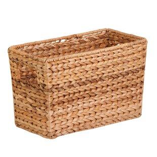Wicker Basket Storage Cabinet Wayfair